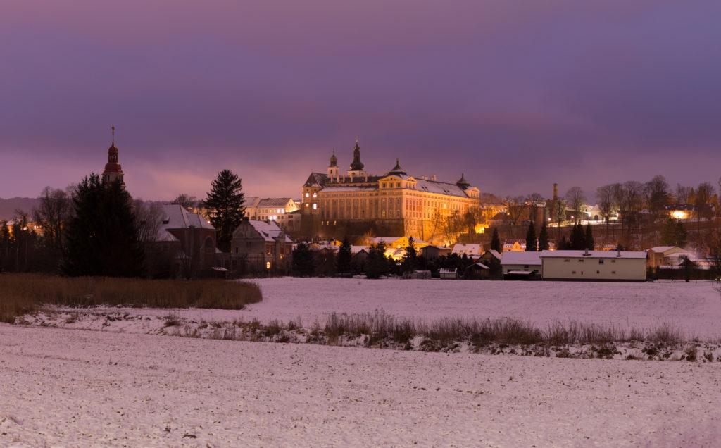 Noční klášter Broumov