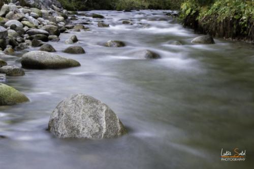 Horský potok Demänovka - Nízké Tatry