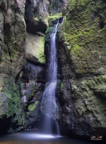 Malý vodopád Adršpach - Broumovsko