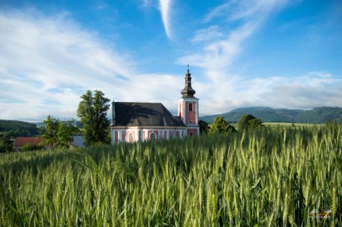 Kostel svaté Máří Magdaleny - Broumovsko