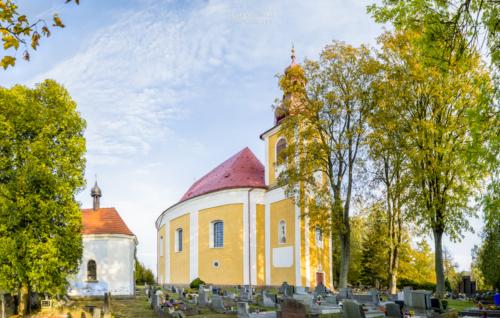 Kostel svatého Michaela archanděla Vernéřovice - Broumovsko