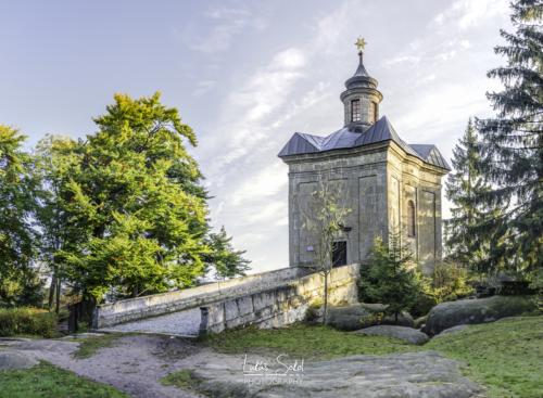 Kaple Hvězda - broumovské stěny