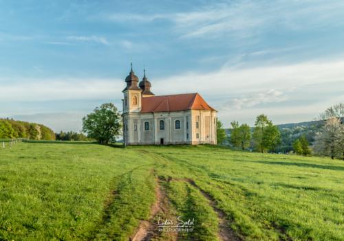 Kostel svaté Markéty - Broumovsko