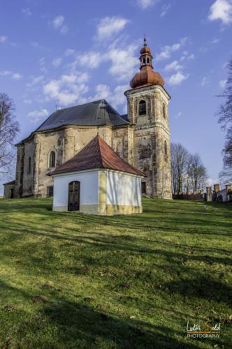 Kostel Všech svatých - Broumovsko