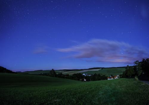 Letní měsíční krajina - Broumovsko