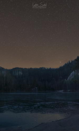 Noční pískovna Adršpach - Broumovsko
