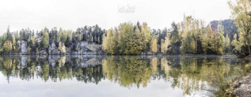 Podzimní pískovna Adršpach