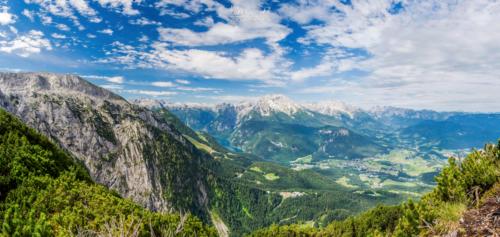 Pohled z orlího hnízda - Berstesgaden
